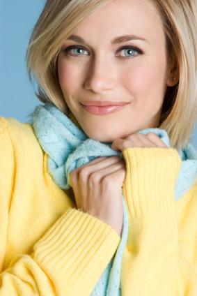 Sweter damski w pastelowym kolorze